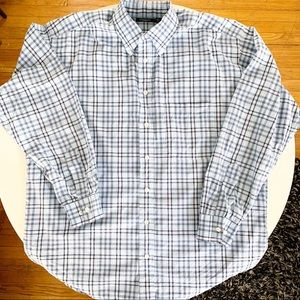 Burberry London Small Scale Check Stretch Shirt